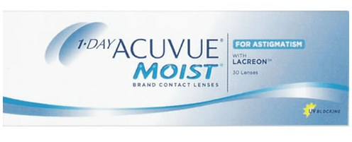 1-DAY ACUVUE MOIST for ASTIGMATISM (30 л)